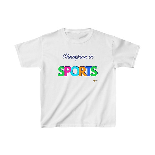 Champion in Sports, Kids Heavy Cotton™ Tee