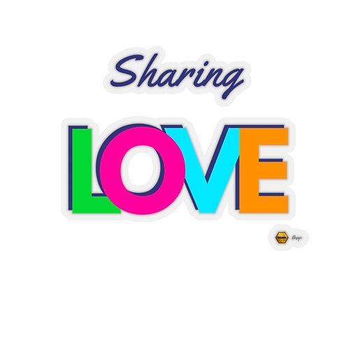 Kiss-Cut Stickers, Sharing LOVE