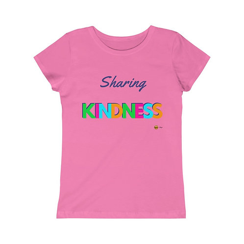Sharing Kindness, Girls Princess Tee