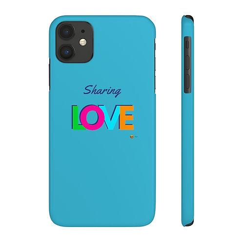 Case Mate Slim Phone Case, Sharing LOVE