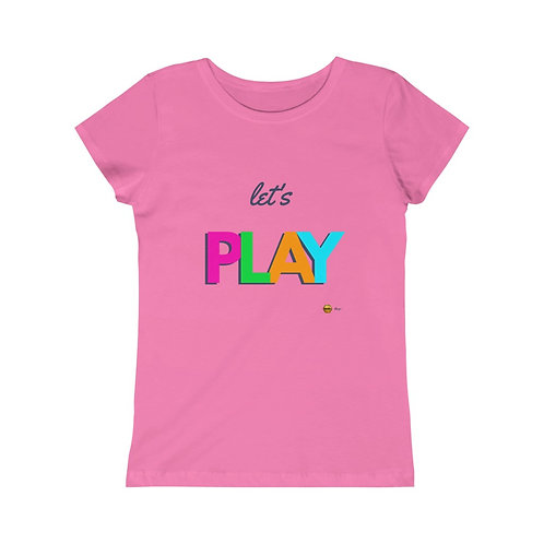 Let's Play, Girls Princess Tee