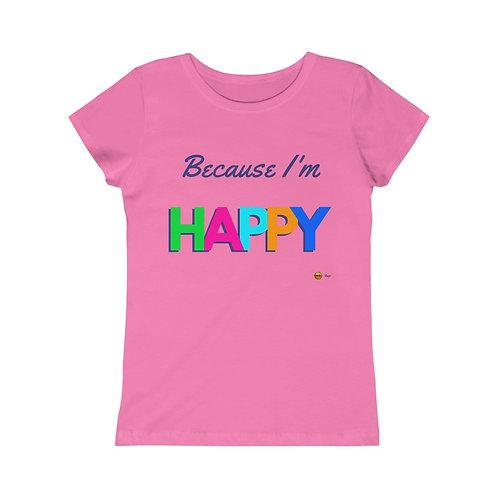 Because I'm Happy, Girls Princess Tee