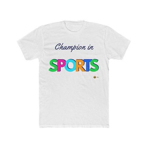Champion in Sports, Men's Cotton Tee