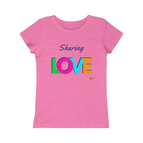 Sharing Love, Girls Princess Tee