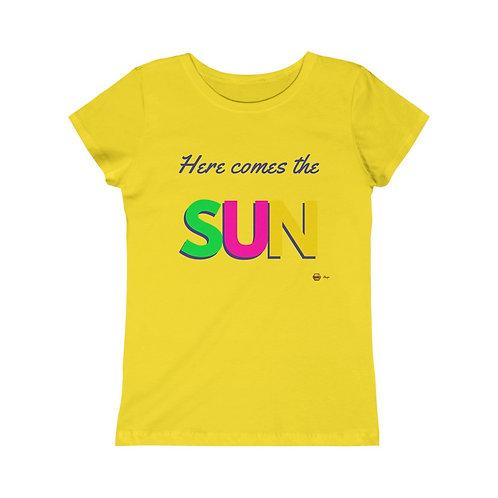 Here comes the Sun, Girls Princess Tee