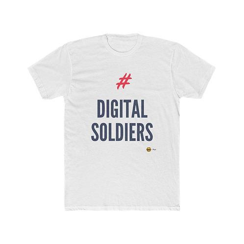 Digital Soldiers, Men's Cotton Tee