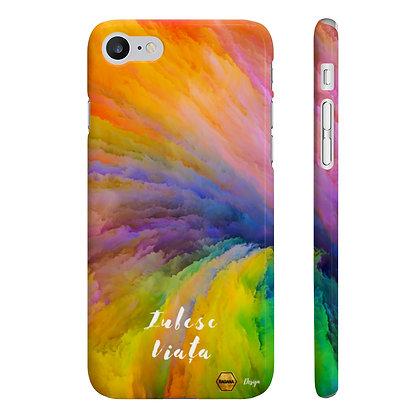 """""""Iubesc Viata"""" Husa Premium IPhone 7 & 8"""