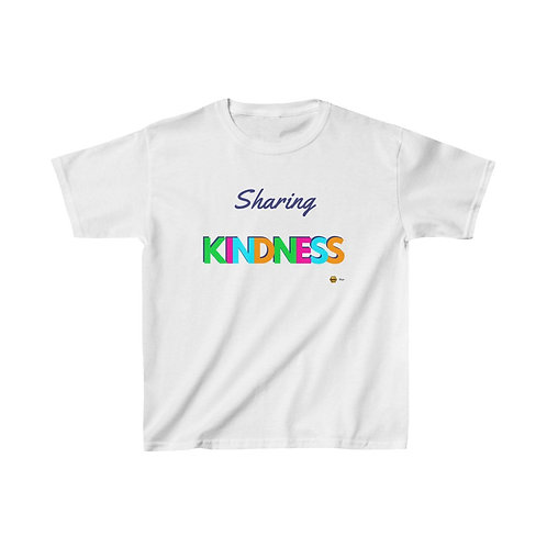 Sharing Kindness, Kids Heavy Cotton™ Tee