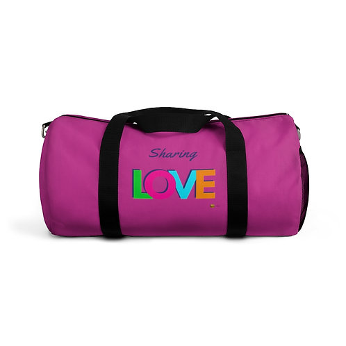 Duffel Bag, Sharing LOVE