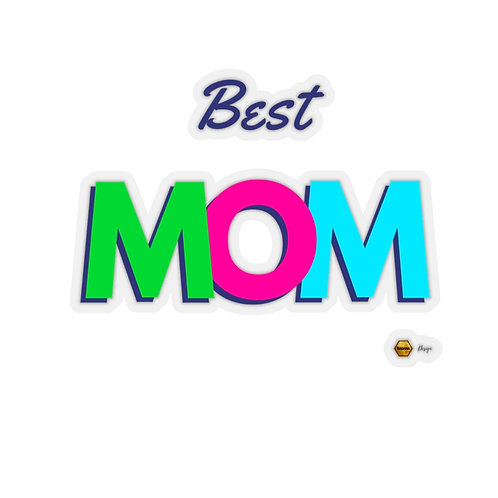 Kiss-Cut Stickers, Best MOM