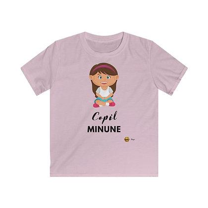 """""""Copil Minune - Fetita"""" Tricou Premium Copii"""