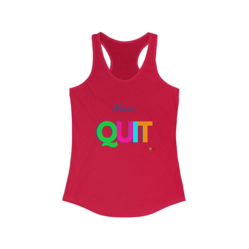 Never Quit, Ideal Tank Top