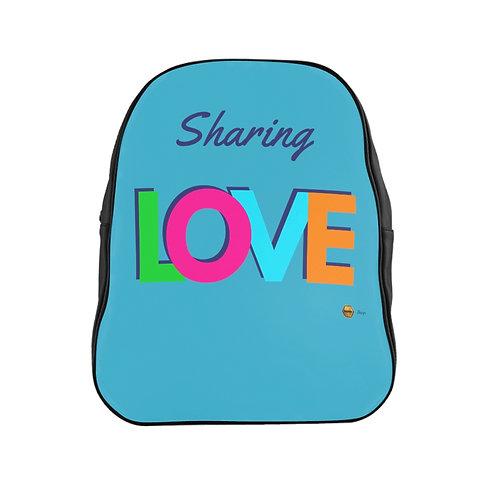 School Backpack, Sharing LOVE
