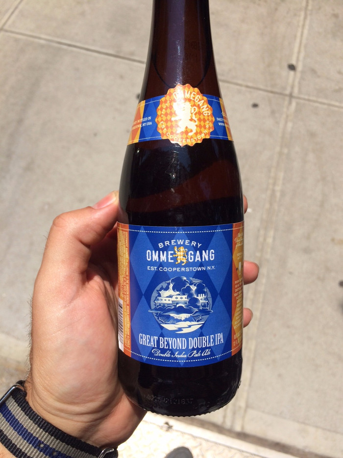 Ommegang's First DIPA