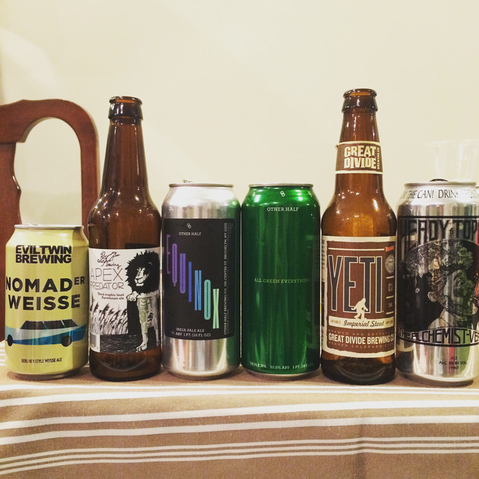 Birthday Beer Tasting Recap