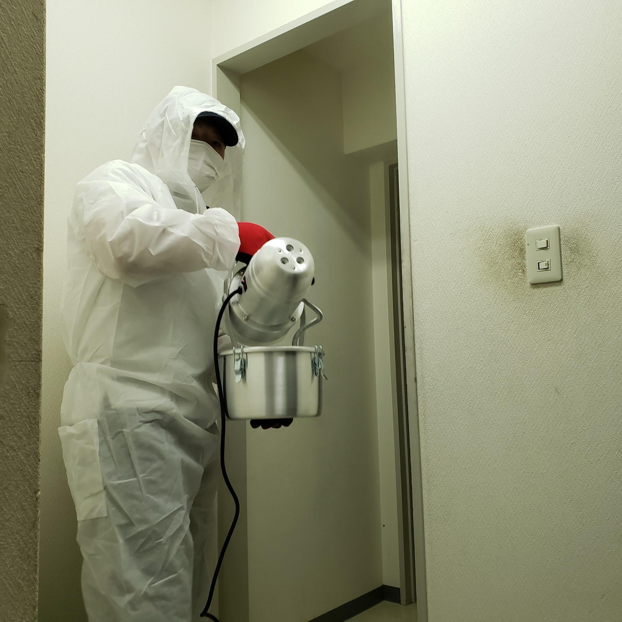 ウィルス除菌・消毒作業