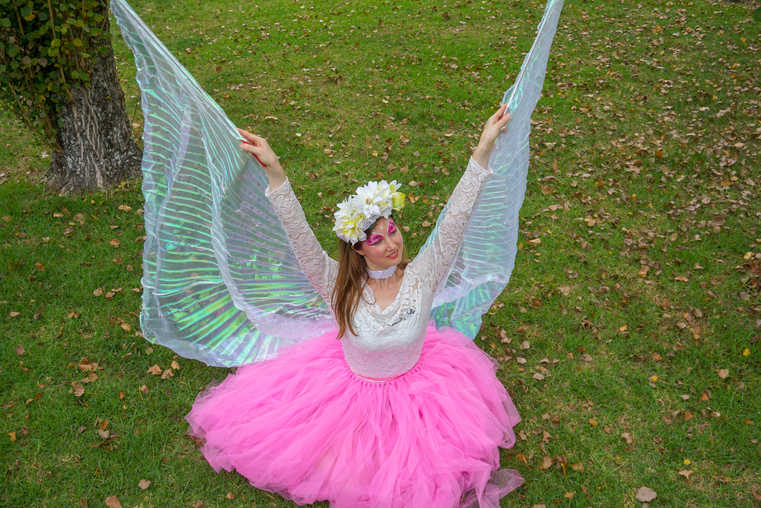 Fairy performer