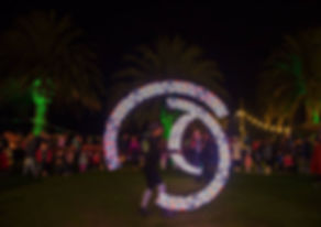 Graphic Poi Performer