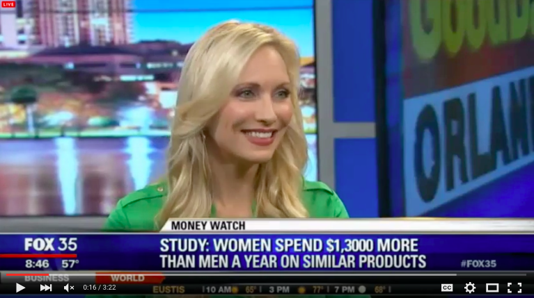 Krista Inochovsky on Fox 35 News