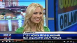 Krista Inochovsky on Fox 35 News