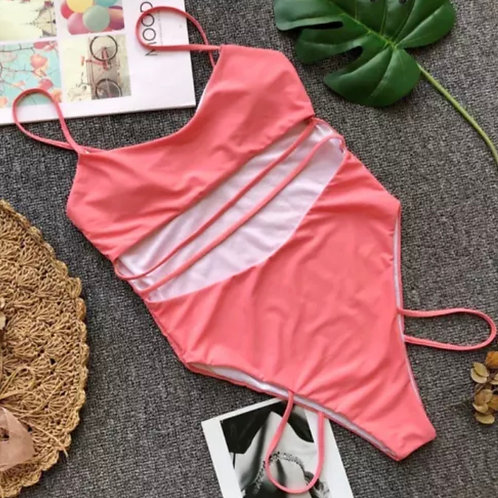 The Polly Swimsuit - Pink