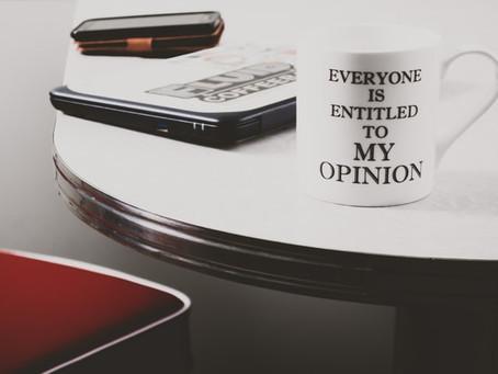 Ella tiene una opinión / She has an opinion