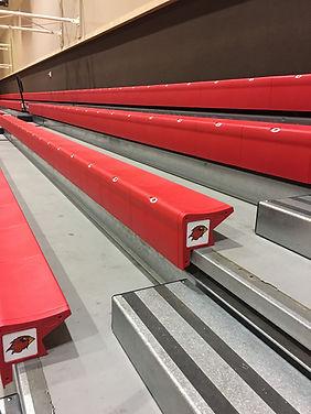 Lamar University (McDonald Gym) - Seating replacements