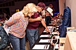 Jefferson County Go Texan silent auction during local cookoff