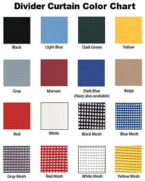 Key Installtions Curtain Color Options