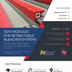 KeyRec Seats | One Sheet(er)