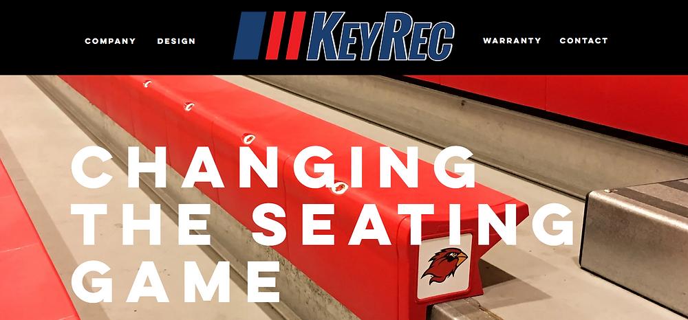 Key Rec new website by Bird Dog Development LLC