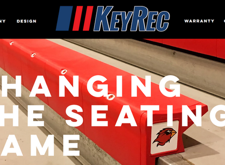 LAUNCH: KeyRec | Athletic Seating | Made in Texas
