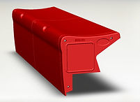 Key Rec - Red bleacher seating