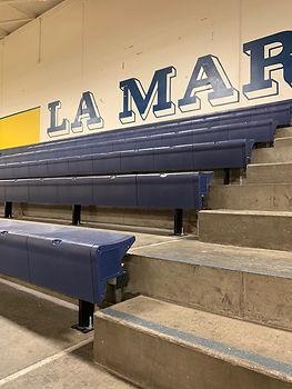 Key Installations seating install at La Marque ISD (TEXAS)
