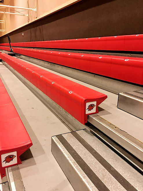 KeyRecCo Seating at Lamar University in Beaumont, Texas
