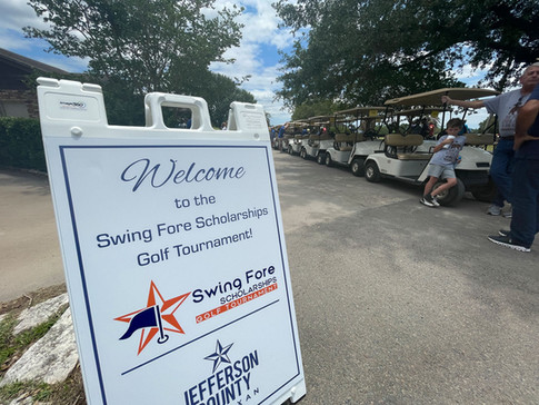 Swing Fore Scholarships Golf Tournament