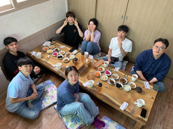 Lunch with Summer Undergraduate Interns