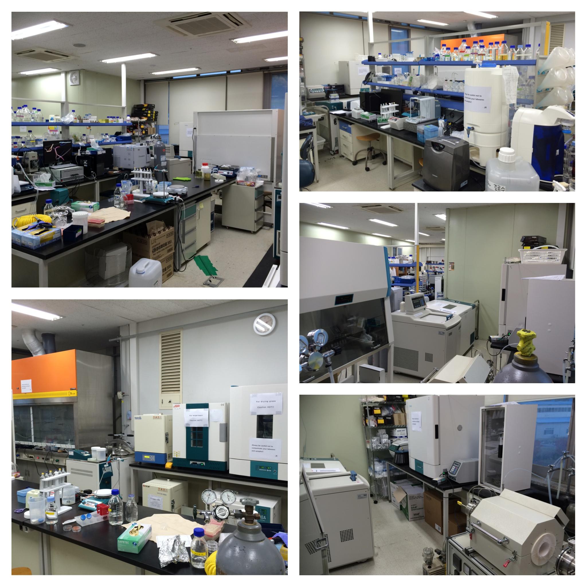 Lab. Scenery