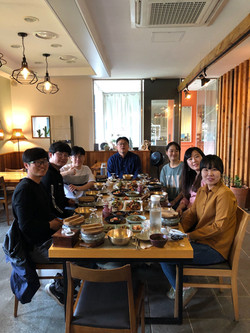 Lunch with BFML members