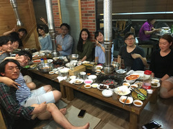 Dinner with BFML members