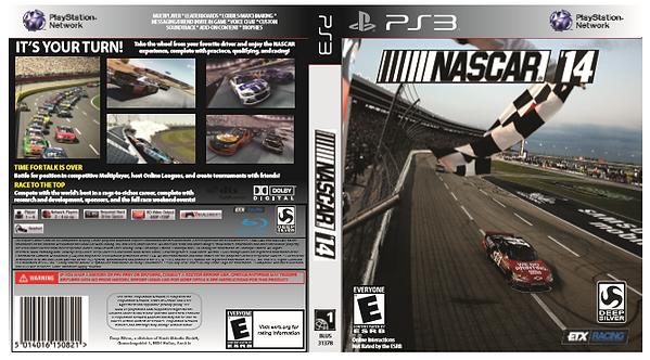 NASCAR 14 Custom Cover
