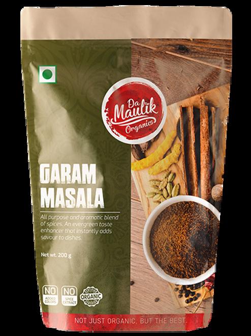 Damaulik 100% Organic Garam Masala Powder 200 gm