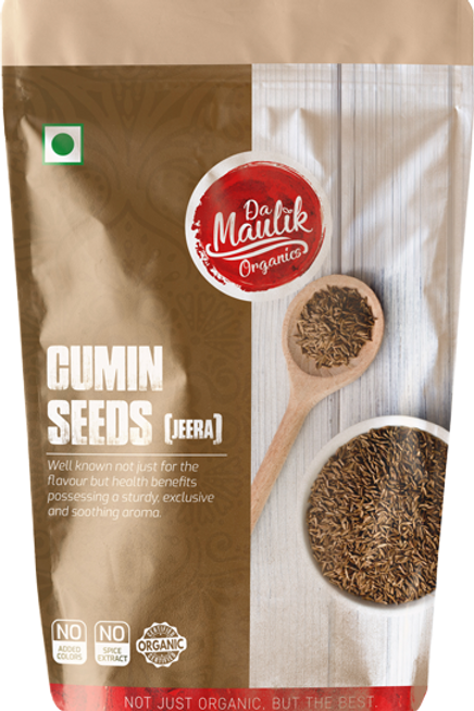 Damaulik 100% organic Cumin Seeds 200g