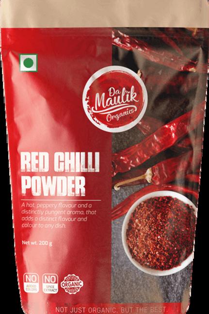 Damaulik 100% Organic Red Chilli Powder 200 gm