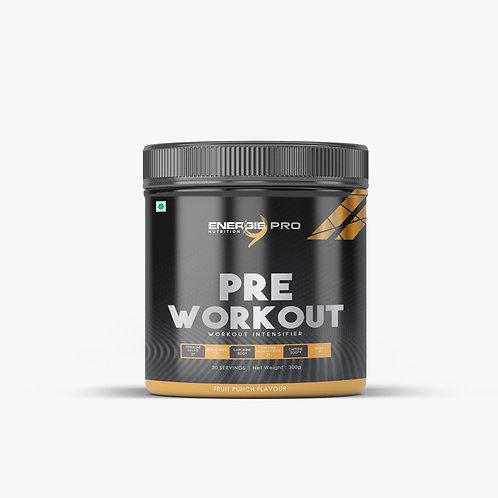 Energie PRO Pre Workout fruit punch Flavour 300gm