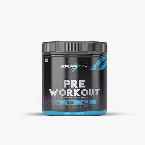 Energie PRO Pre Workout Blueberry Flavour 300gm