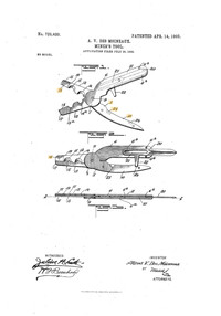 Miner's Safety Loading tool patent