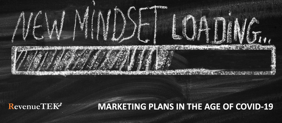 MARKETING PLANS IN THE AGE OF COVID-19