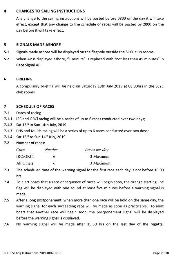SCOR 2019_3 Sailing Instructions 13&14Ju