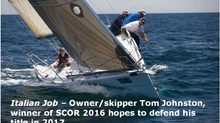 SCOR 2017 – Entries off to a great start!